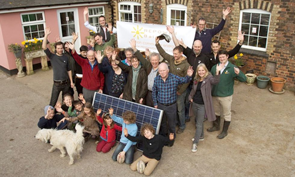 UK Town Quits Fossil Fuels and Starts Renewable Energy Co-Op