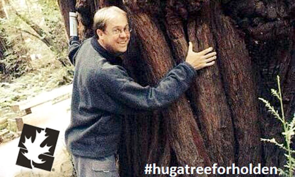 Hug a Tree in Celebration of Arbor Day
