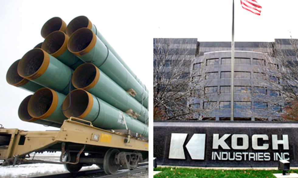 Sen. Whitehouse and Rep. Waxman Question Koch Brothers' Financial Interest in Keystone XL Pipeline
