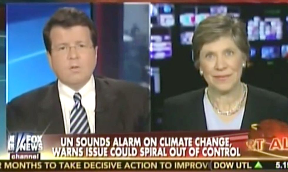 Watch a Climate Denier Label IPCC Report as UN's 'Perverse Priorities' on Fox News