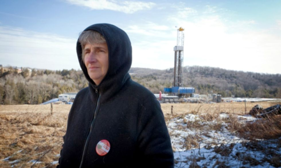 Court Order Allows Fracking Company to Ban Local Woman From 40 Percent of County
