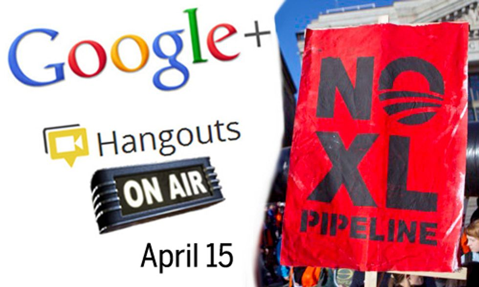 EcoWatch CEO Featured on National Google+ Hangout April 15 on Keystone XL