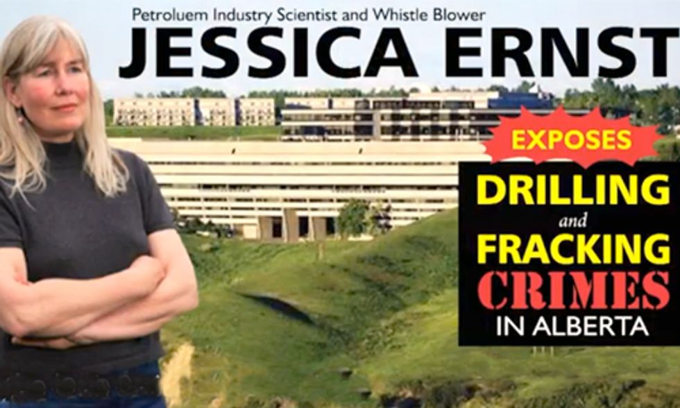 Oil Consultant Turned Whistleblower Exposes Fracking Crimes in Alberta
