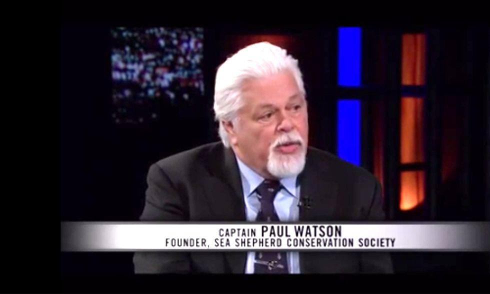 Sea Shepherd Founder to Bill Maher: 'If Oceans Die, We Die'