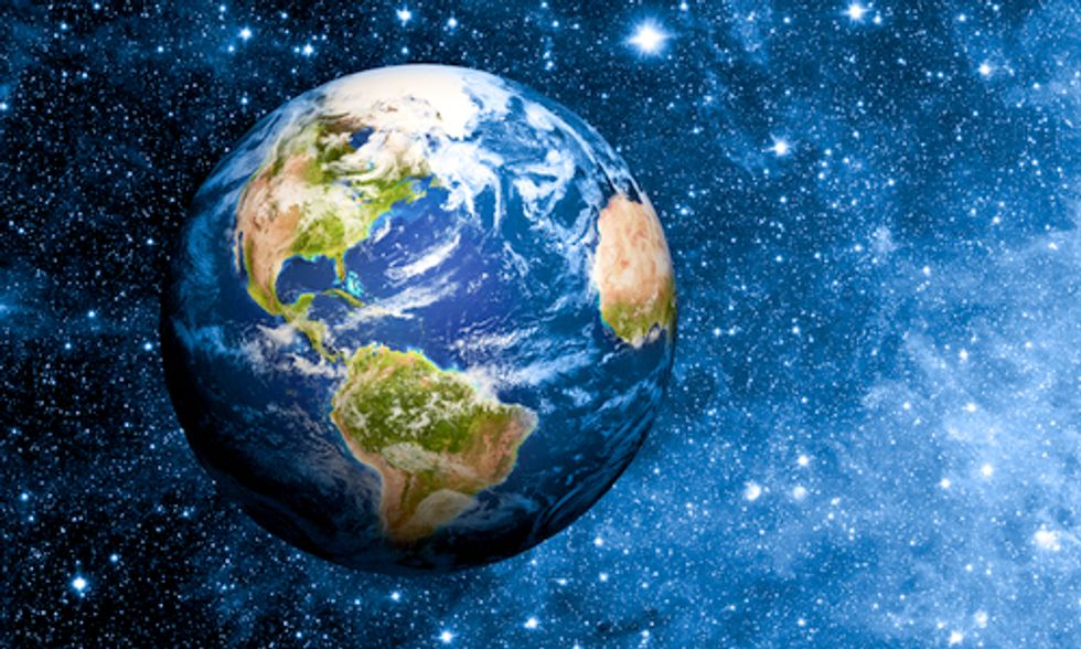 Celebrating Our Small Blue Planet
