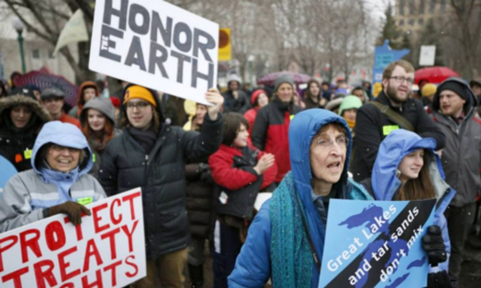 300+ Devoted Activists Rally in Minnesota Against Proposed Tar Sands Pipeline Expansion Project