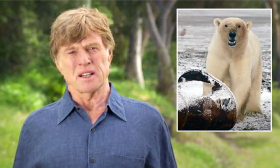 Robert Redford: President Obama, Put the Arctic Off-Limits to Big Oil