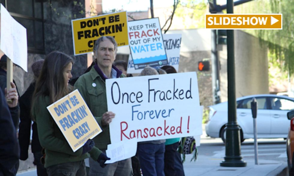 Idaho Residents Protest Auction of Public Lands for Oil and Gas Drilling
