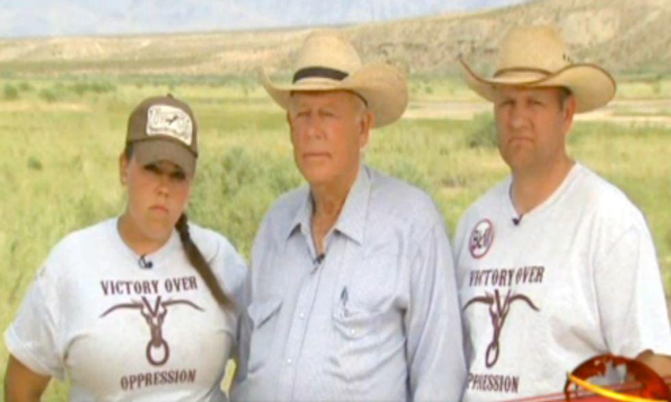 Sen. Reid Deems Bundy Defenders 'Domestic Terrorists'