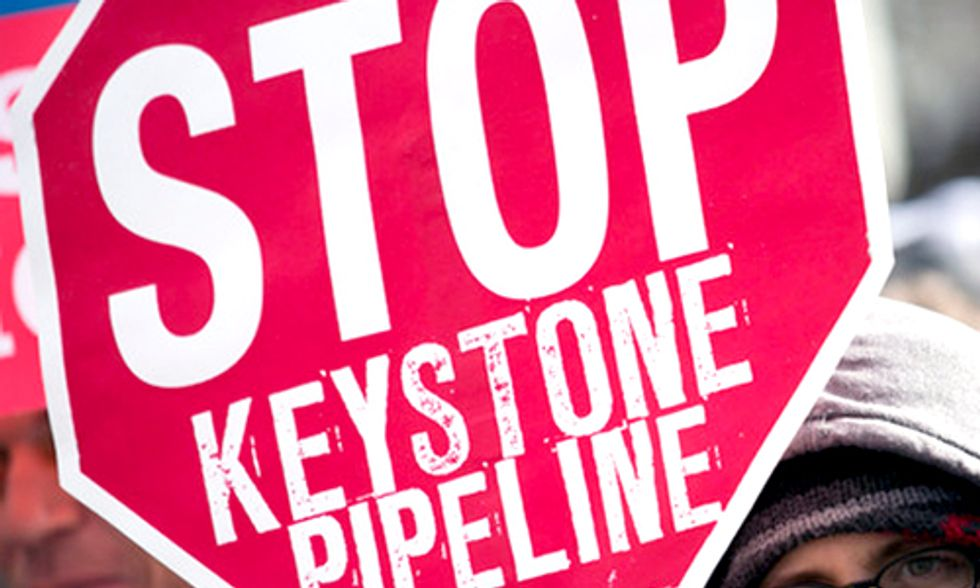 Bill McKibben: We Need to Win Not Delay the Keystone XL Pipeline Decision