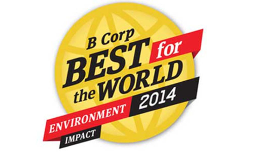 84 Businesses Honored as 'Best for the Environment'