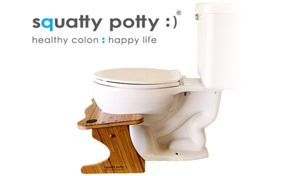 Squatty Potty Makes Me Feel Happy and Healthy