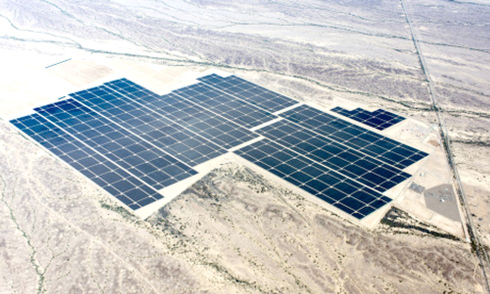 World's Largest Solar Plant Could Power 230,000 Homes
