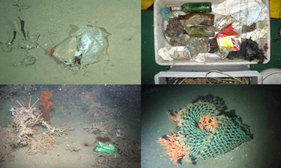 Seabed Survey Shows Deep, Remote Ocean Waters Littered With Human Trash