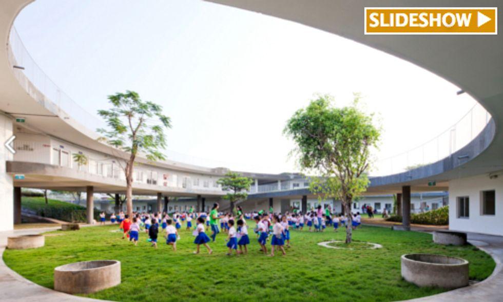 Green Roof Helps Vietnamese Kindergartners Learn Sustainability and Grow Food