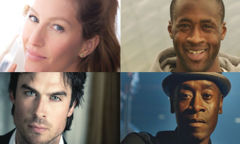 Ian Somerhalder, Gisele Bundchen, Don Cheadle and Yaya Toure Issue Call to Action for World Environment Day