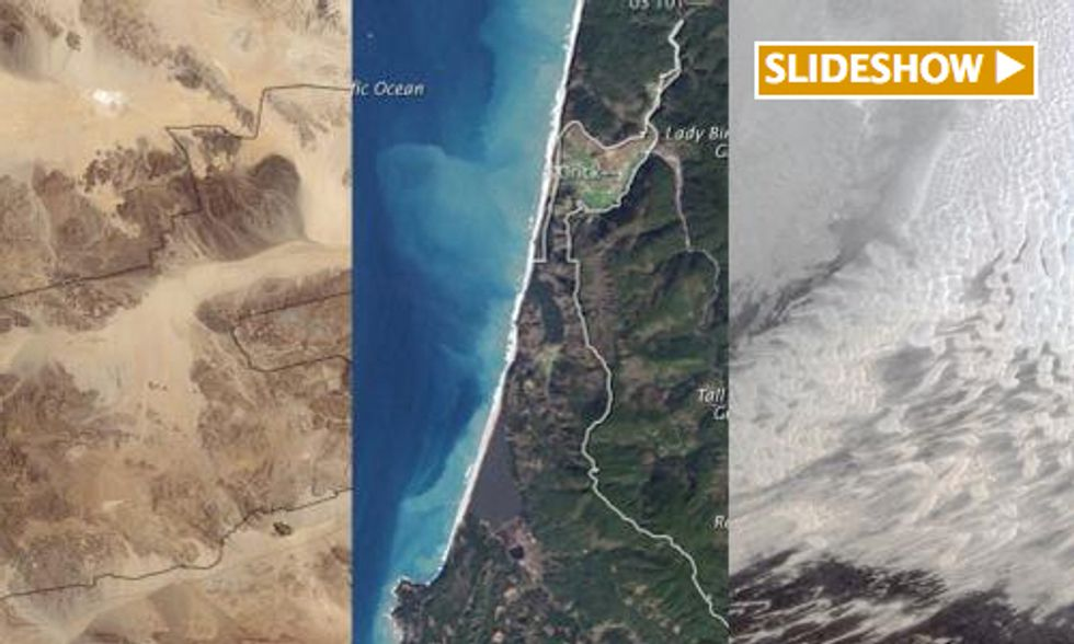 NASA Showcases Beauty of National Parks in Awesome Aerial Images