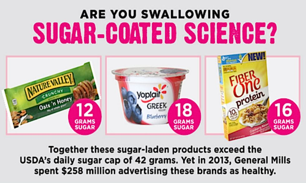 Sugar-Coated Science: Food Industry Uses Deceptive Marketing to Hide Added Sugar