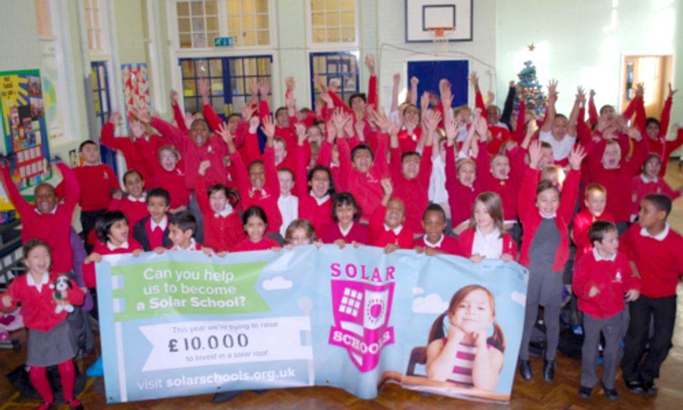 UK Partnership Helps 50 Schools Raise Nearly $600,000 to Go Solar