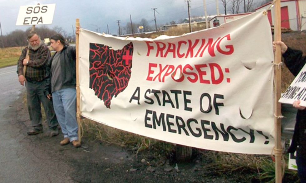 Ohio Town Votes Against Fracking Ban For Third Time in a Year