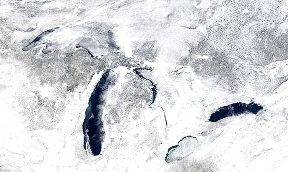 Lasting Effects of the Polar Vortex on the Great Lakes