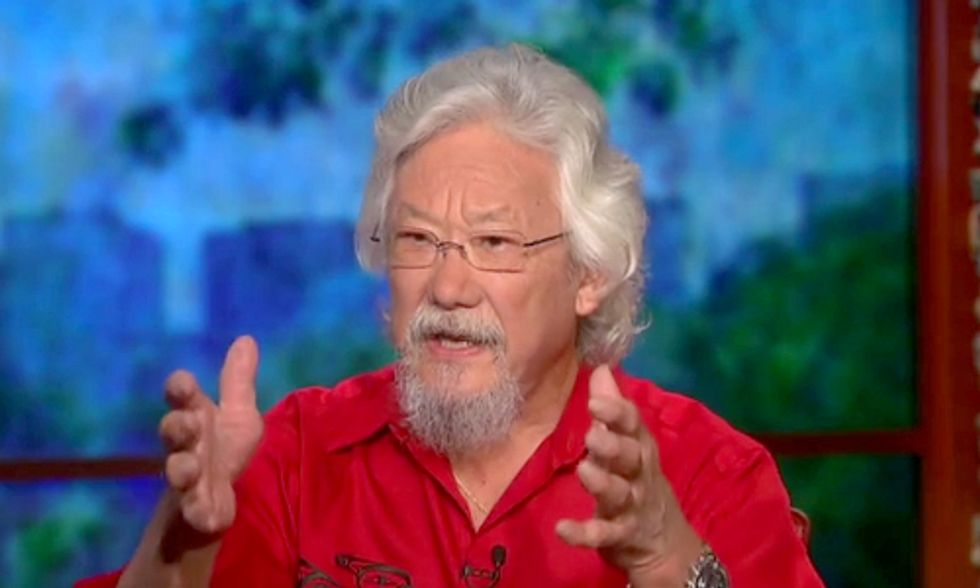 Dr. David Suzuki Tells Bill Moyers Why It's Time to Get Real on Climate Change