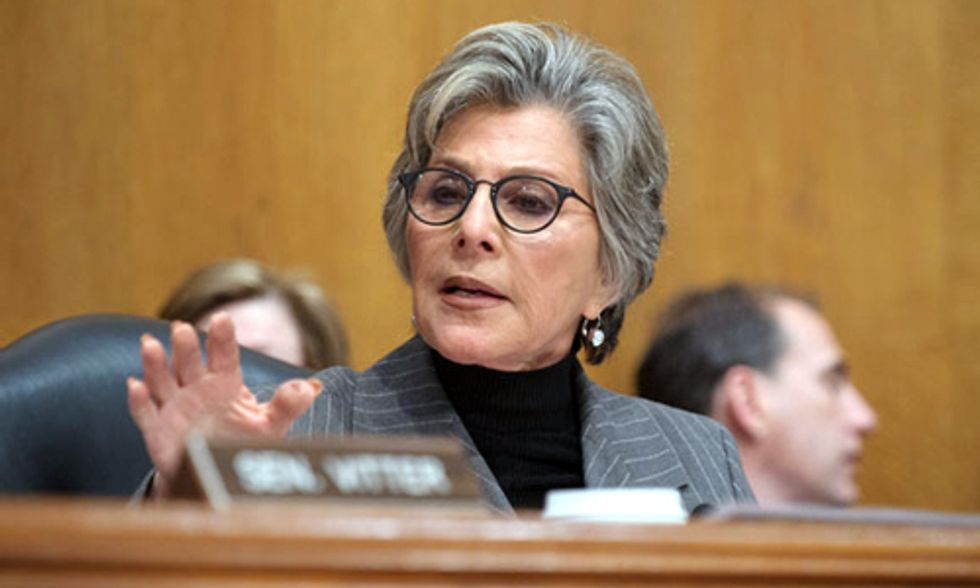 Exclusive Interview with Sen. Barbara Boxer