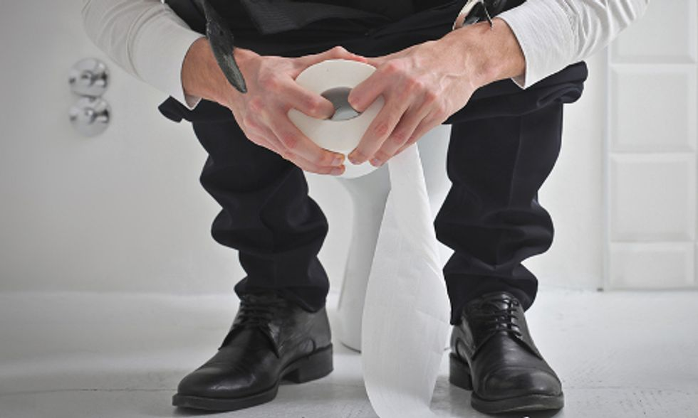 5 Complications From Sitting on Your Toilet