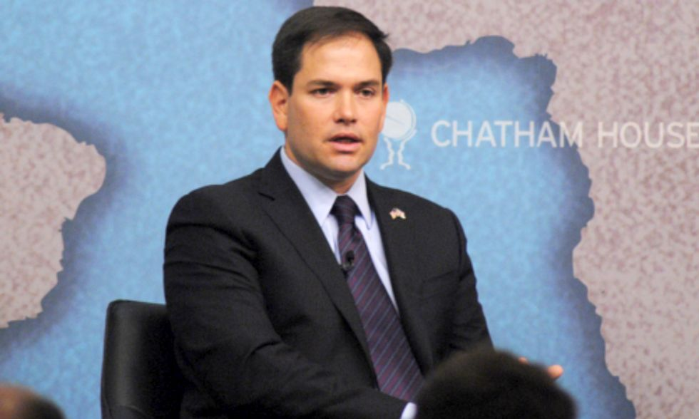 Marco Rubio: Humans Don't Cause Climate Change