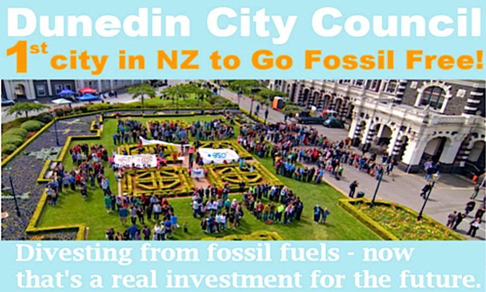 Citing Climate Change, Ethical Reasons, New Zealand Town Divests From Fossil Fuels