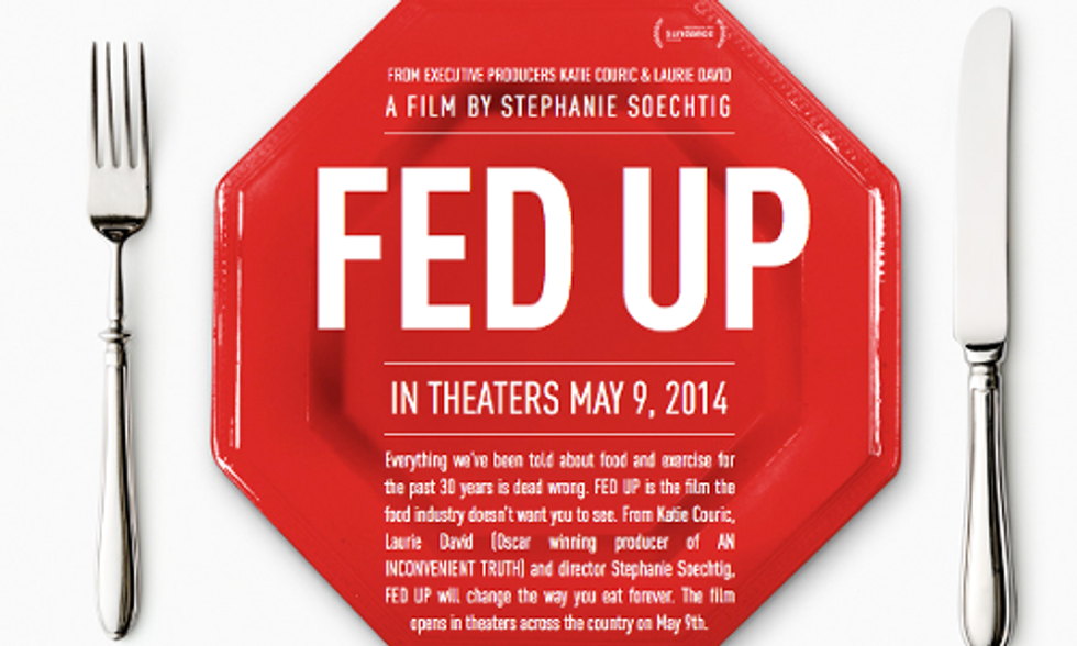 Big Food Freaking Out About 'Fed Up'