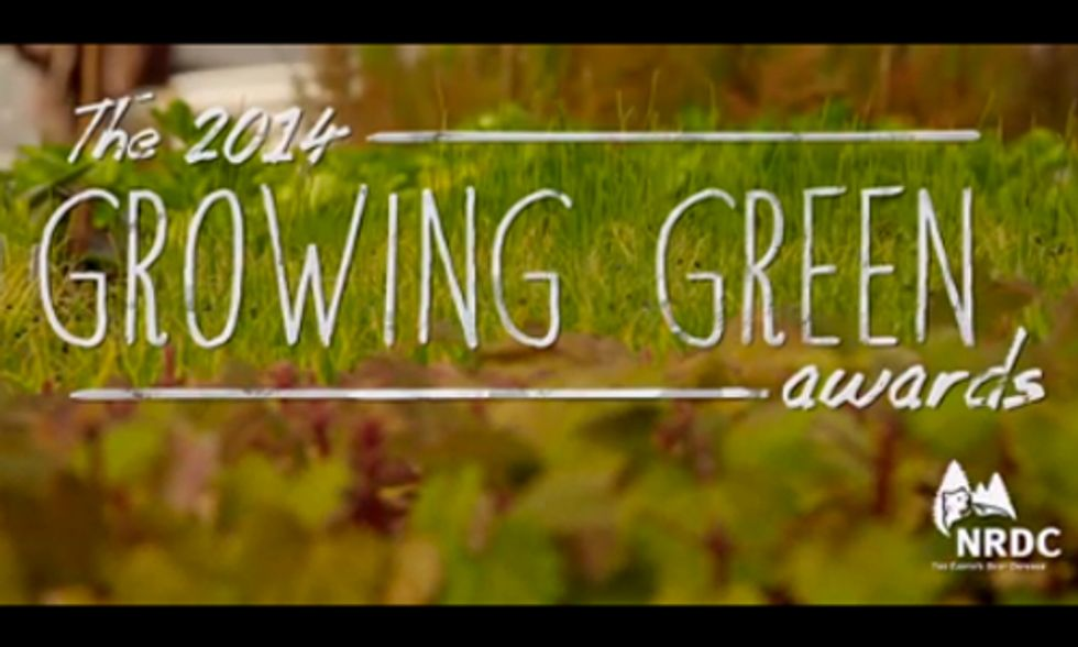 2014 Growing Green Awards Honor Innovators in Sustainable Food and Farming