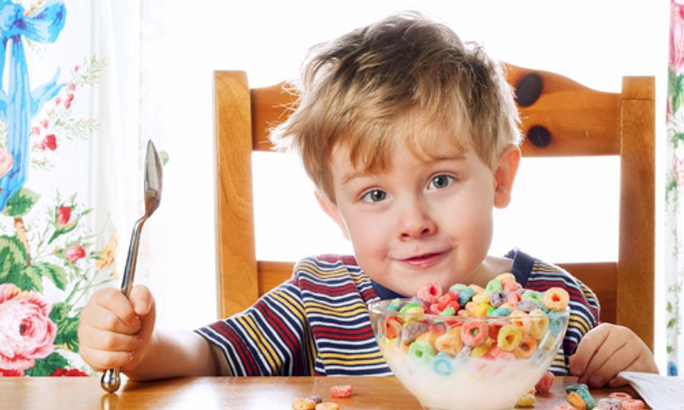 An Eye-Opening Look at Added Sugar in Kids' Cereals