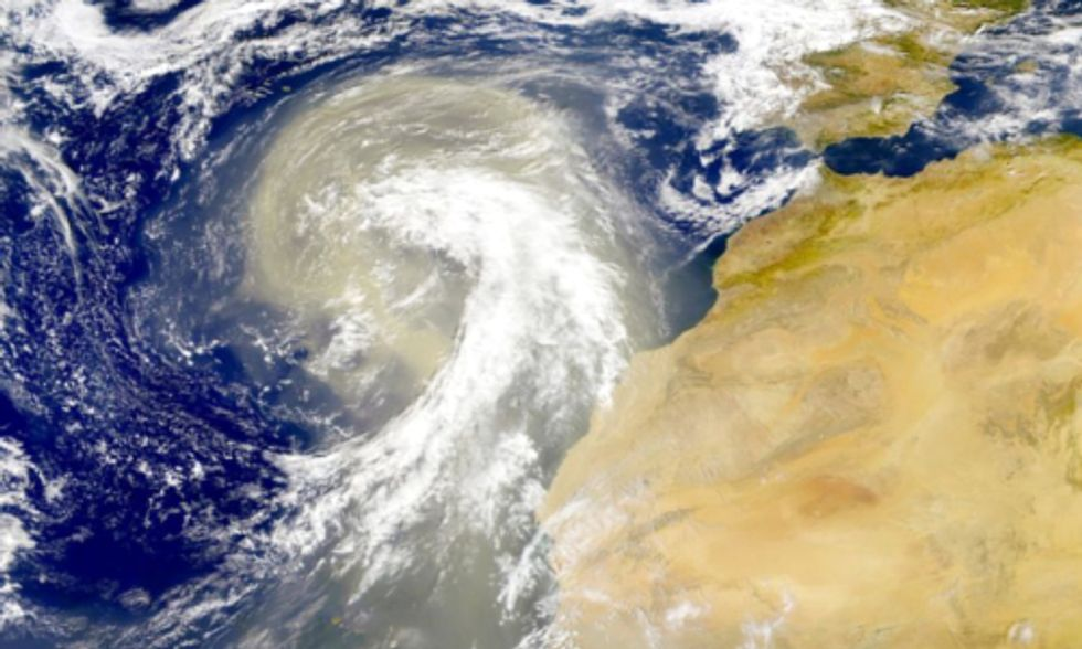 How Will Climate Change Effect Harmful Marine Bacteria Brought on by Saharan Dust?