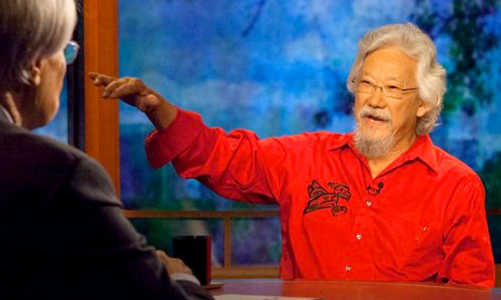 David Suzuki Discusses the War on Climate Scientists