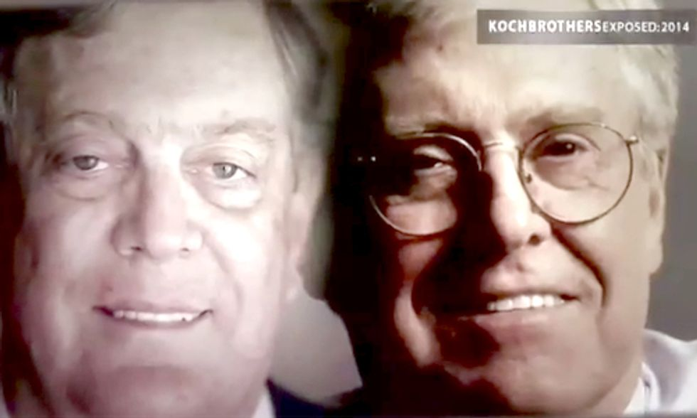Dark Money Documentary Exposes Koch Brothers' Spending Secrets