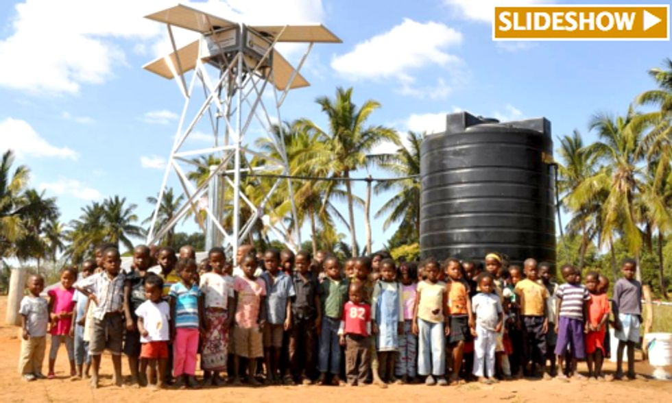 The Solar-Powered Pump System That Could Bring Clean Water to the 800 Million People Without It