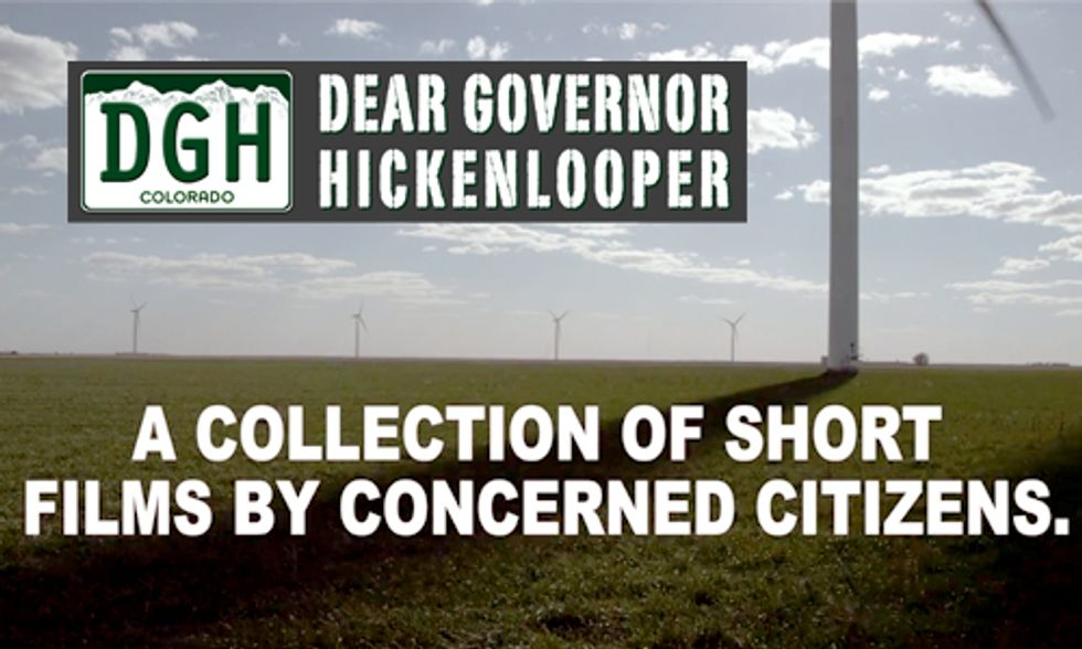 'Dear Governor Hickenlooper' Film Exposes Detriments of Fracking and Promise of Renewable Energy