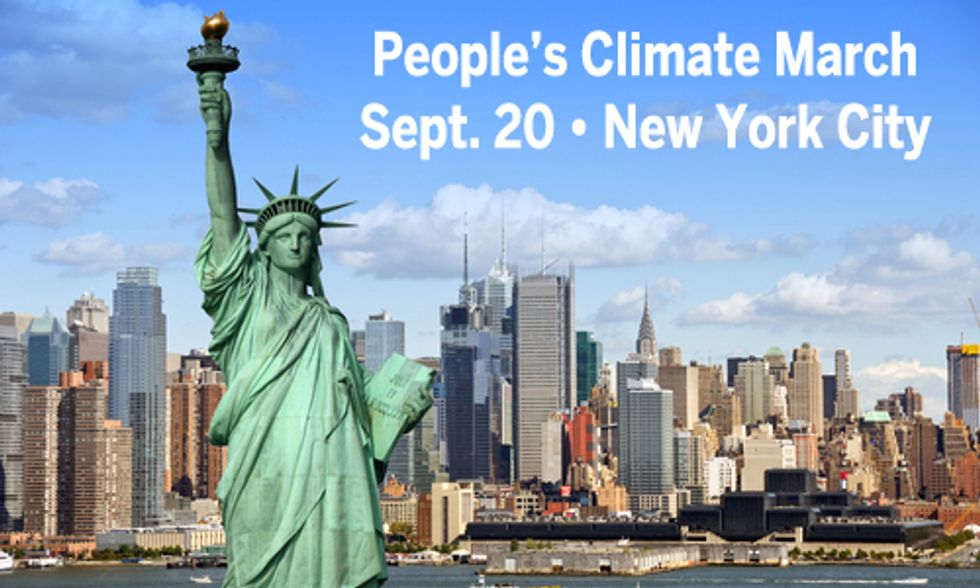 Demand Action on Climate Change in NYC on Sept. 20