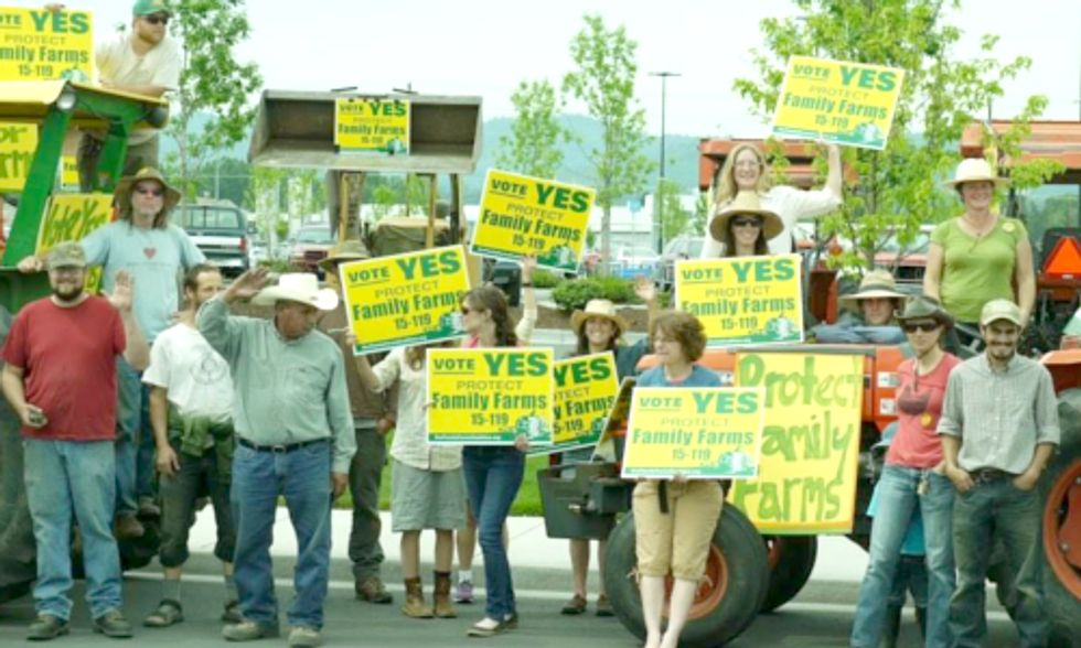 2 Oregon Counties Ban GE Crops in Landslide Election Victories
