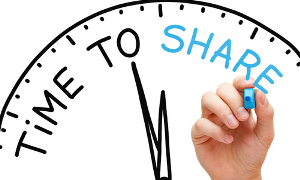 Less Stuff: The Transformative Power of Sharing