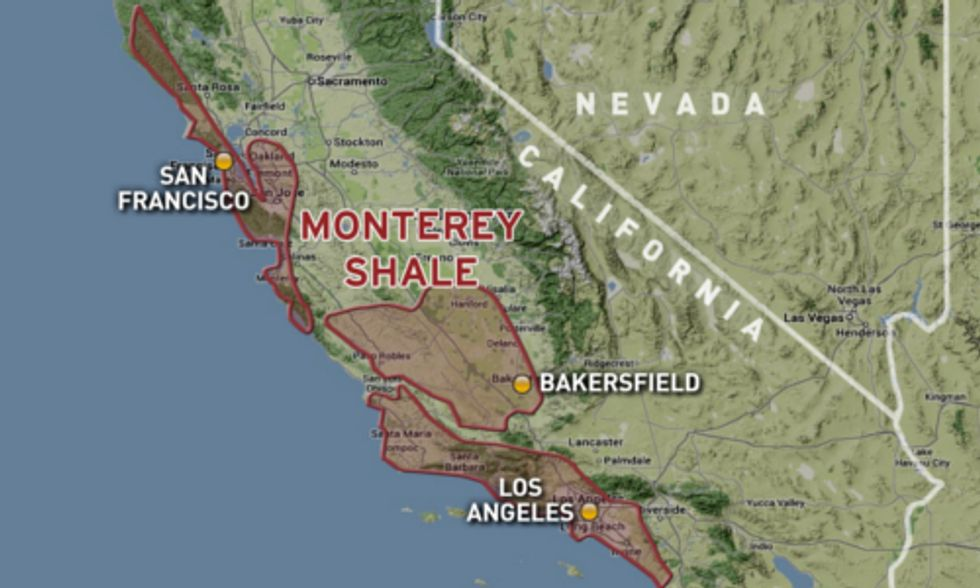 Fracking California: Authorities Slash Estimate of Recoverable Shale by 96%