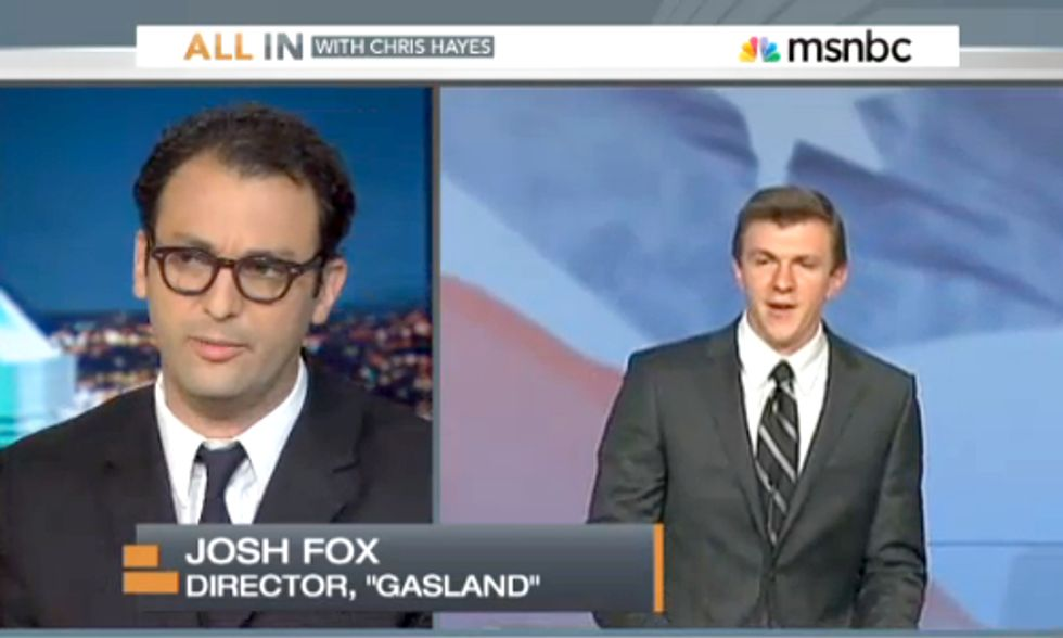 Watch 'Gasland' Director Josh Fox Brilliantly Avoid James O'Keefe's Oil Entrapment
