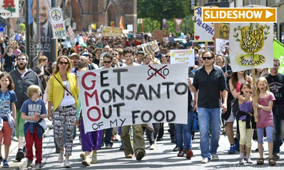 Millions March Against Monsanto Calling for Boycott of GMOs