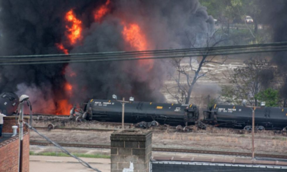 How Climate Change Could Lead to More Oil Train Derailments
