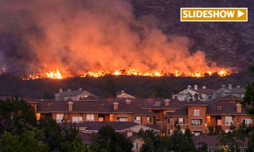 Stunning Photos Reveal Intensity of Wildfire Season's Early Start