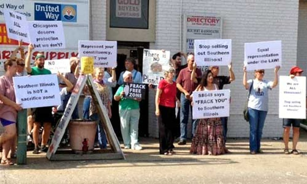 Fracking Sacrifice Zone Rejected by Illinois Residents