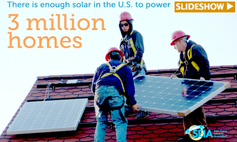 Solar Energy Dominates First Quarter With 74 Percent of New Electric Capacity