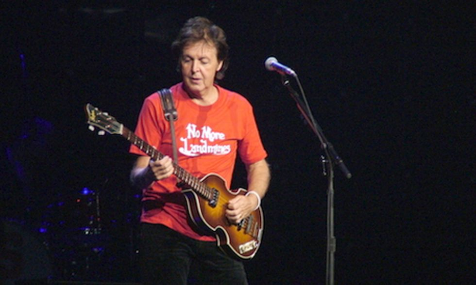 Sir Paul McCartney Leads Celebrity Call for Fracking Ban in the UK