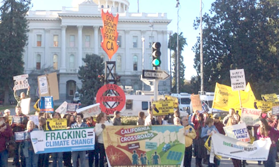 California Senate Disappoints by Rejecting Fracking Moratorium